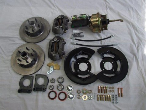 Mustang 1964-1966 Disc brake Conversion Kit. Kelsey Hayes disc brakes