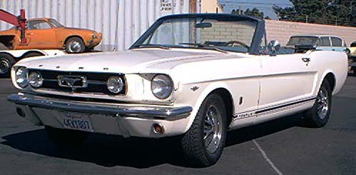 Interior window trim kit - 1965 Fordmustang Gt Convertible A Code
