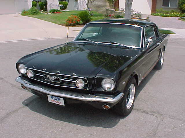 1966 Ford Mustang Coupe GT A code V8 4 speed. VIN 6R07A127593