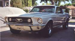 1967 Ford Mustang Fastback - Front