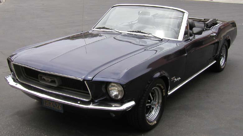 Ford Mustang Convertible Pics