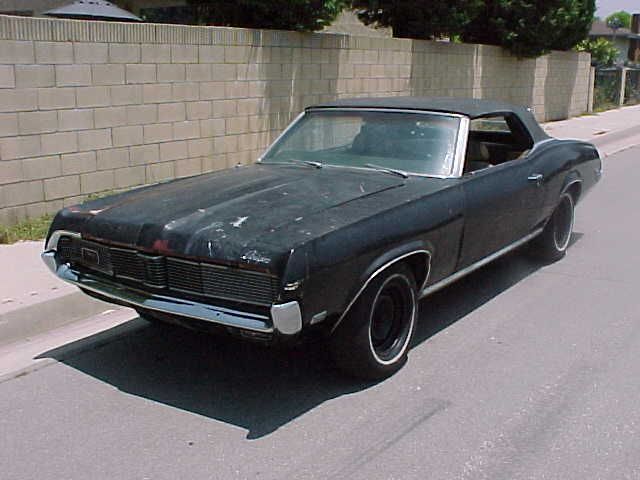 Ford Mercury Cougar 1999. 1969 Mercury Cougar Coupe