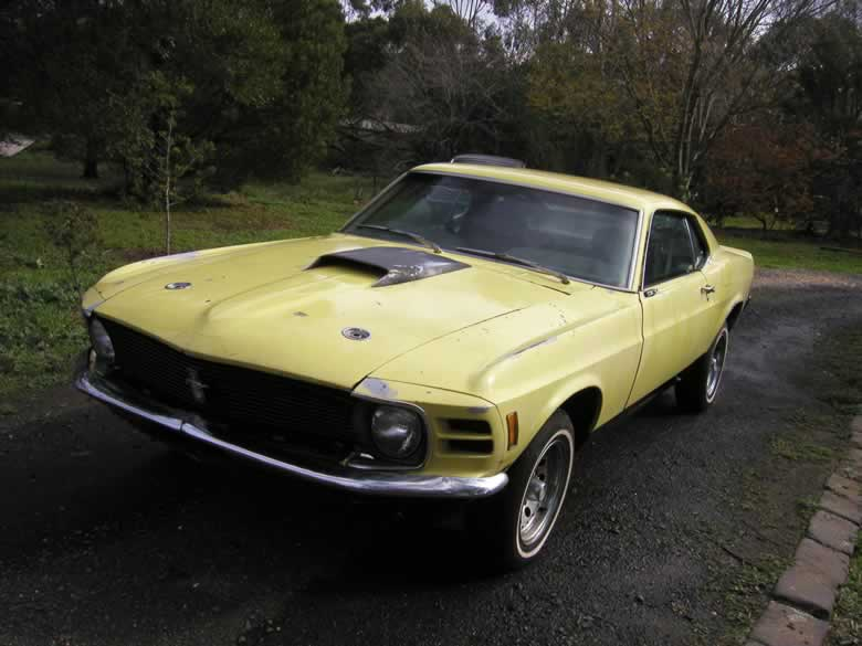 1970 Ford Mustang Fastback. VIN ORO2F158842 Complete car. May run.
