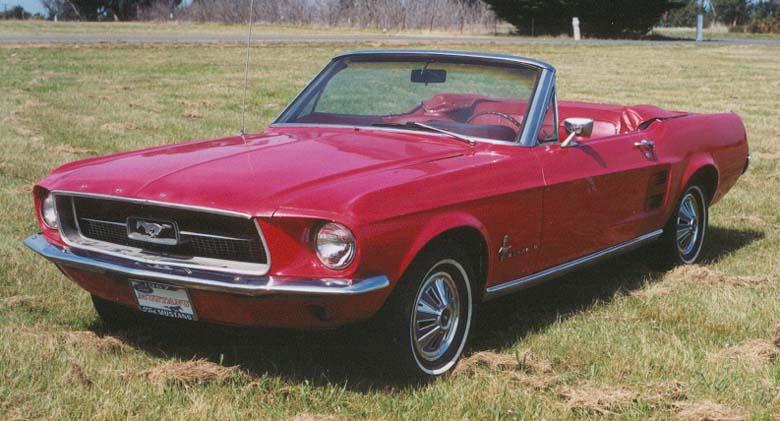 Fox News Little Red 1967 Mustang